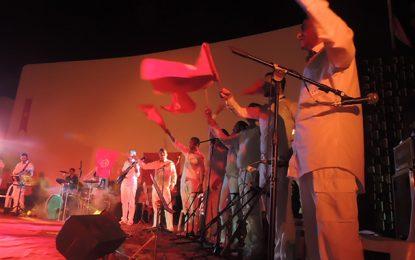 Des détenus sur la scène du Festival d'Ezzahra