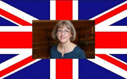 Louise De Sousa nommée ambassadeur de Grande Bretagne à Tunis