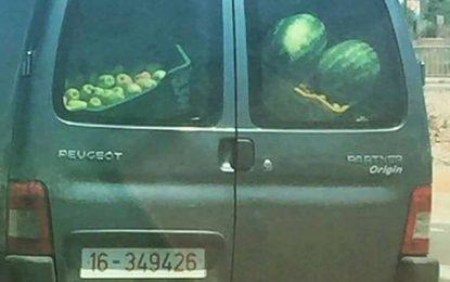 Voiture du ministère du Tourisme transportant des fruits : Et alors ?