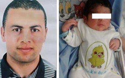 Naissance du fils de l'agent martyr Mohamed Ali Zaoui