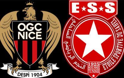 Football : Ce soir à Sousse, match amical ES Sahel – OG Nice