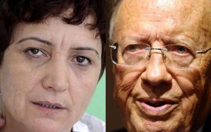 Samia Abbou : «Béji Caïd Essebsi est poursuivi pour corruption»
