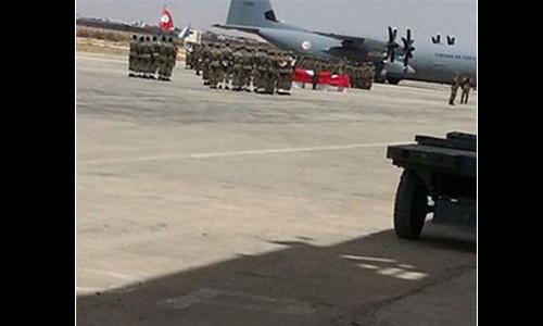 Sfax- cérémonie militaire crash