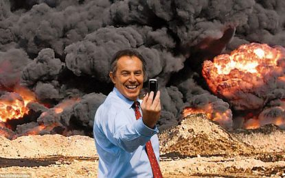 Tony Blair et l'Irak ou l'extermination «polie»