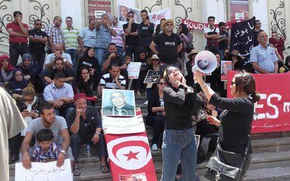 Rassemblement à Tunis à la mémoire du prof qui s'est immolé à Sfax