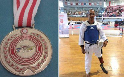 Amputé d'une jambe, Bassem devient champion de Tunisie de taekwondo