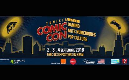 Festival Comic-Con Tunisia du 2 au 4 septembre au Kram