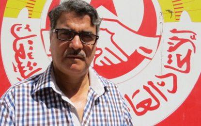 Tataouine : Décès de Kamel Abdellatif, SG du bureau régional de l'UGTT