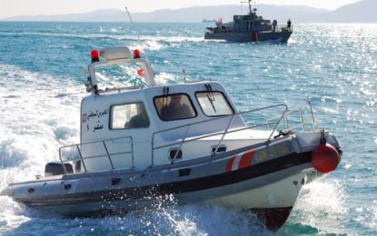 Des garde-côtes libyens en formation en Tunisie