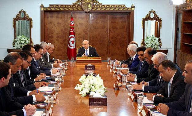 Gouvernement partis participant aux négociations
