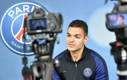 Football : 1er but de Hatem Ben Arfa avec le Paris Saint Germain