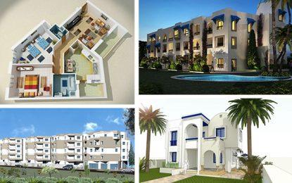 La relance laborieuse du secteur immobilier tunisien