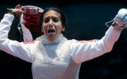 Rio-2016 : L'escrimeuse Inès Boubakri en 1/4 de finales