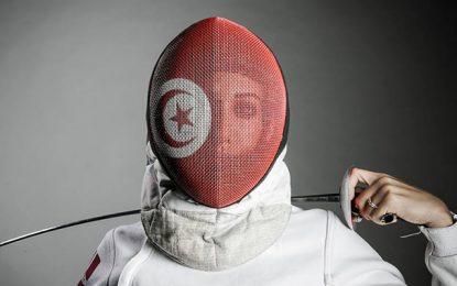 Rio-2016-Escrime : La Tunisienne Inès Boubakri en demi finale