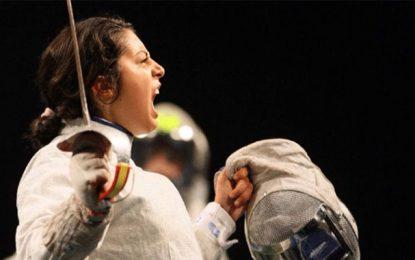 Escrime : Azza Besbes vice-championne du monde