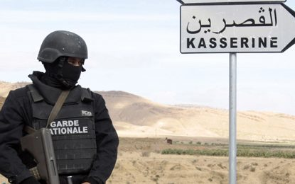 Kasserine : Opération antiterroriste à Jebel Salloum