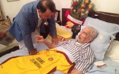 Le doyen des footballeurs de l'Espérance fête ses 100 ans