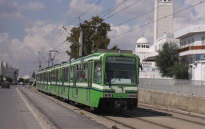Tunis : Des individus bloquent le passage d'un métro à El-Menzah