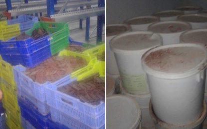 Manouba : Saisie de près de 7 tonnes de confiseries périmées
