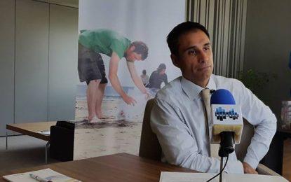 Matthieu Langeron  parle de l'opération «Plages propres» de Total Tunisie