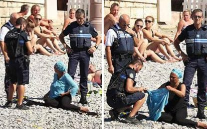 Scandale à Nice : Des policiers «déshabillent» une femme voilée