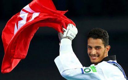 RIO 2016-Taekwondo : Oussama Oueslati offre la 3e médaille de bronze à la Tunisie