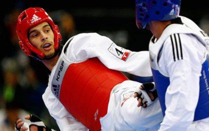 JO-2016 – Taekwondo : Oussema Oueslati en ¼ de finales