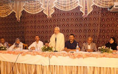 Ghannouchi aux Nahdhaouis : « Nous sommes revenus de loin »