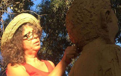Fête de la Femme: Une sculpture de Ouled Ahmed à Hammamet
