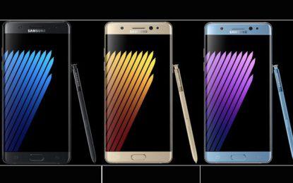 Samsung lance le nouveau Galaxy Note7