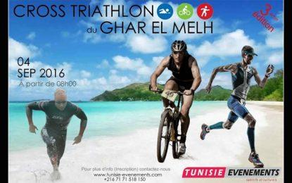 Le Cross Triathlon Ghar El-Melh dimanche prochain