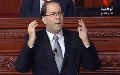 Youssef Chahed à l'ARP : Le salut de la Tunisie vaut bien quelques sacrifices
