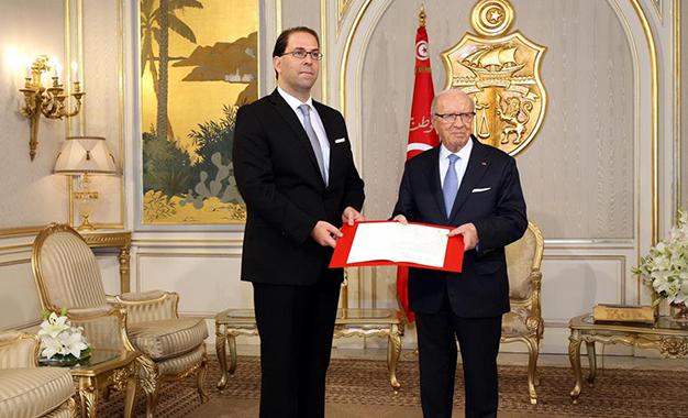 Youssef chahed - Béji Caïd Essebsi