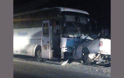 Trois morts dans un accident à Zaghouan