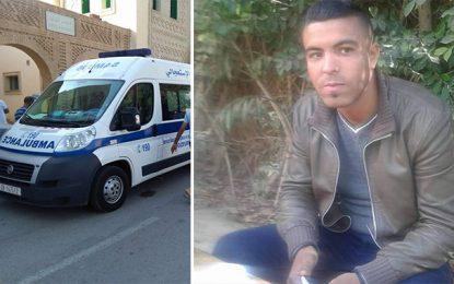 Tozeur : Pour le transfert du policier poignardé à l'hôpital de la Marsa