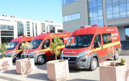 Une citoyenne fait don de 3 ambulances à la protection civile