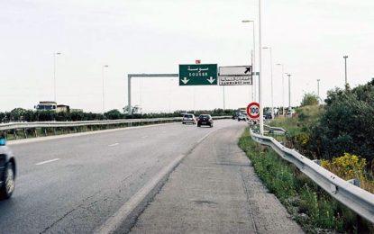autoroute tunis sousse dix bless s dans un accident. Black Bedroom Furniture Sets. Home Design Ideas