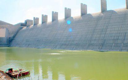 Kef : La zone irriguée autour du barrage Sarrat prête en septembre 2017