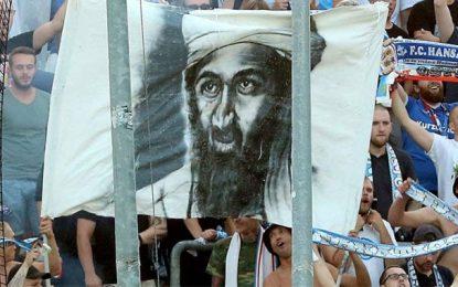 Ben Laden s'invite dans les gradins d'un stade en Allemagne