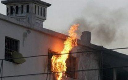 Bizerte : Deux détenus brûlés dans un incendie à Borj Erroumi