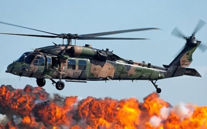 Les 4 Black Hawks américains livrés  à la Tunisie en 2020