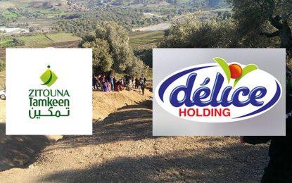 Délice Holding et Zitouna Tamkeen vont lancer un projet pilote à Fernana