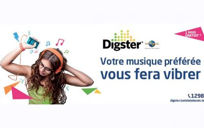 Tunisie Telecom lance l'offre de musique Digster by TT
