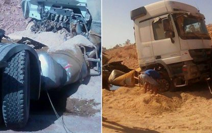 Accident à Médenine : Trois morts et plusieurs blessés