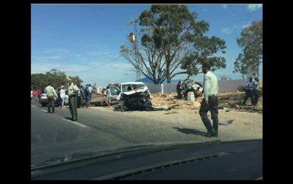 Gabès : 2 mortes et 8 blessés dans un accident à Mareth