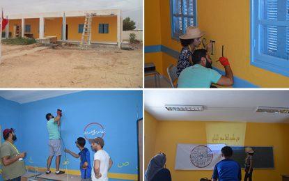 Gafsa : Une association réhabilite une école rurale délabrée