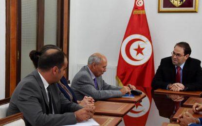 Les membres du conseil de la Haica reçus par Youssef Chahed