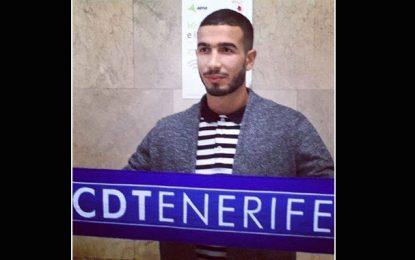 Football: Haithem Jouini heureux d'endosser le maillot de CD Tenerife