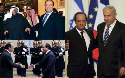 La diplomatie française en Méditerranée et au Moyen-Orient sous François Hollande