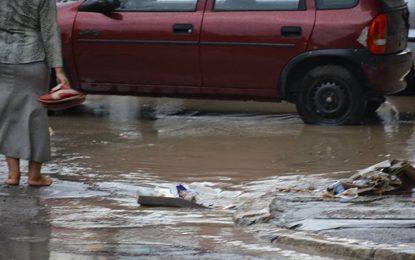 Inondations : L'Onas pointe les citoyens qui jettent les déchets dans la rue